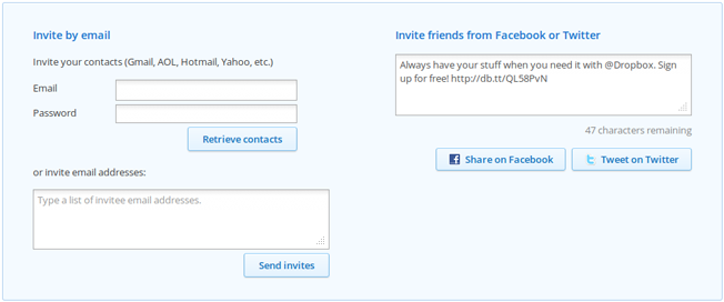 refer a friend dropbox