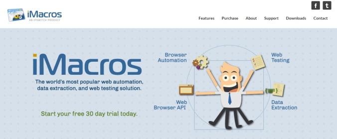 Imacros Chrome